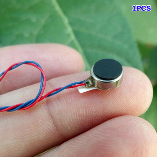 DC 3V 3.7V Pager Cell Phone Mobile Coin Flat Vibrating Vibration Micro DC Motor