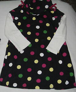 Gymboree NWT MERRY AND BRIGHT Pink Gray Dress 3 4 5 6