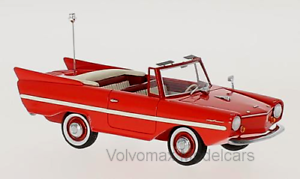 Wonderful NEO-modelcar AMPHICAR 770 1966 - red - 1 43 - lim.edition 700