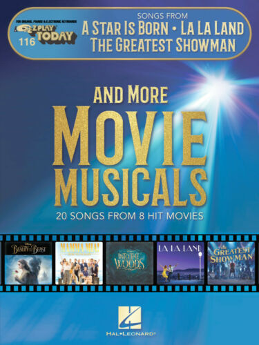 EZ Play Piano 287931 Songs from A Star Is Born The Greatest Showman and More