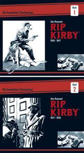 Rip-Kirby-BOCOLA-Verlag-Die-kompletten-Comicstrips-Band-1-amp-2