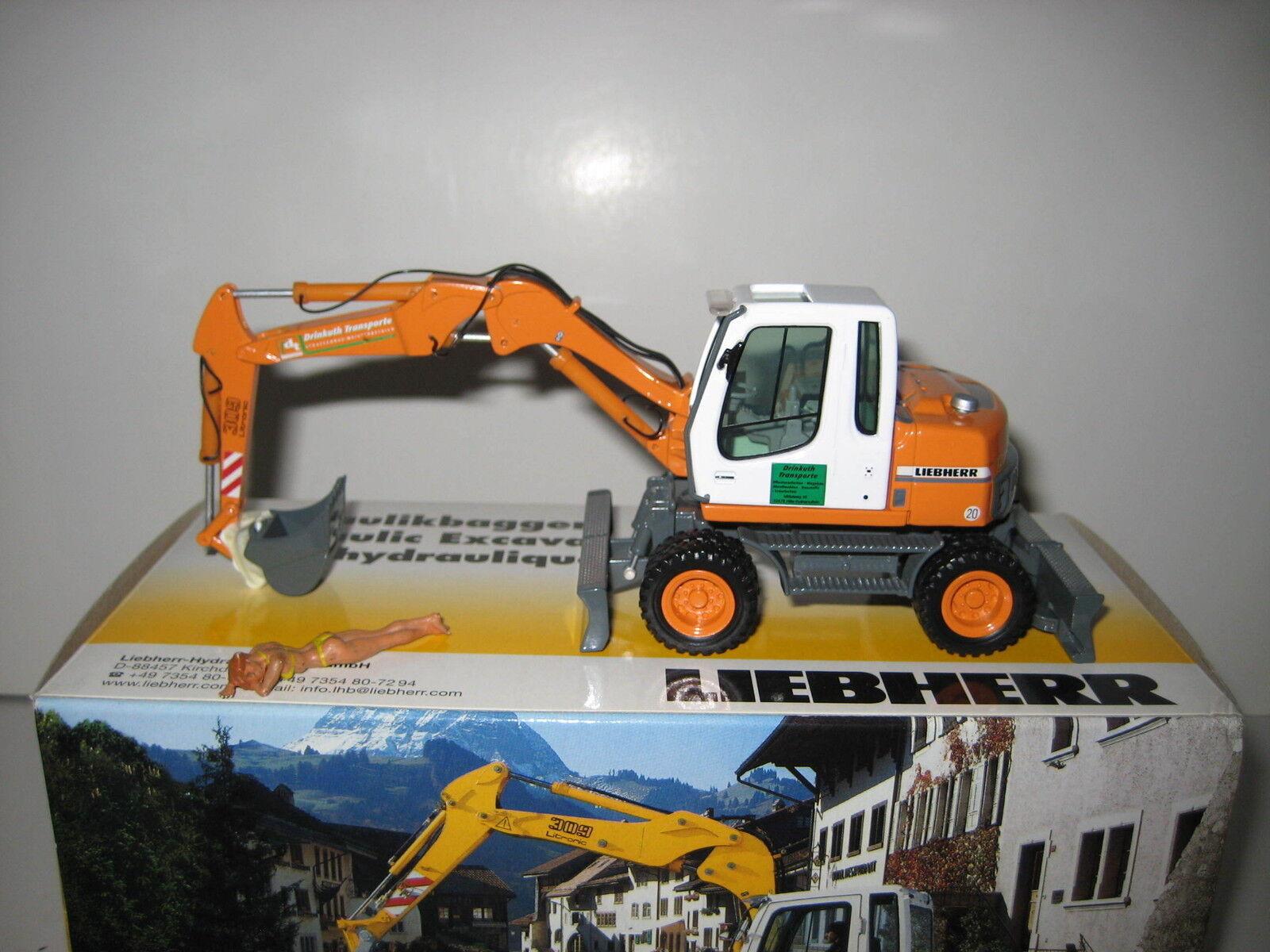 Liebherr 309 Excavator Bucket Excavator drinkuth  605 NZG 1 50 Pack Orig.