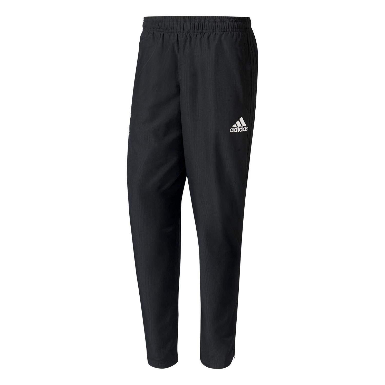 Adidas DFB Germania [ Gr. S ] Pantaloni da Jogging Nero Nuovo & Ovp