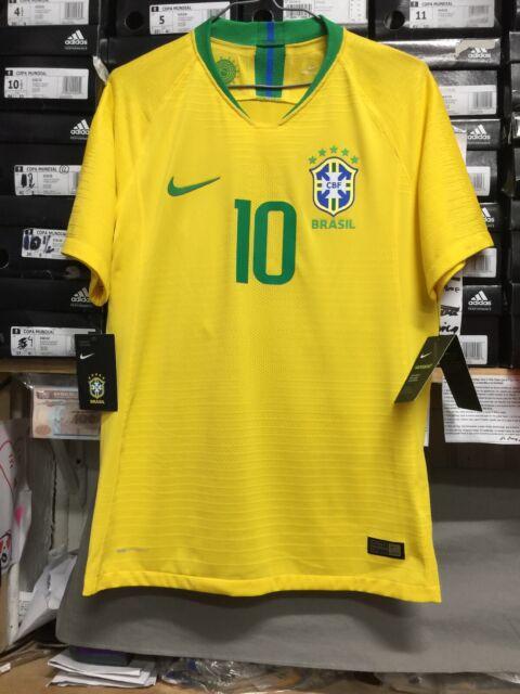 97ef17da4 Nike Brazil National Team Home Authentic Jersey  11 Neymar Jr Size XL Only