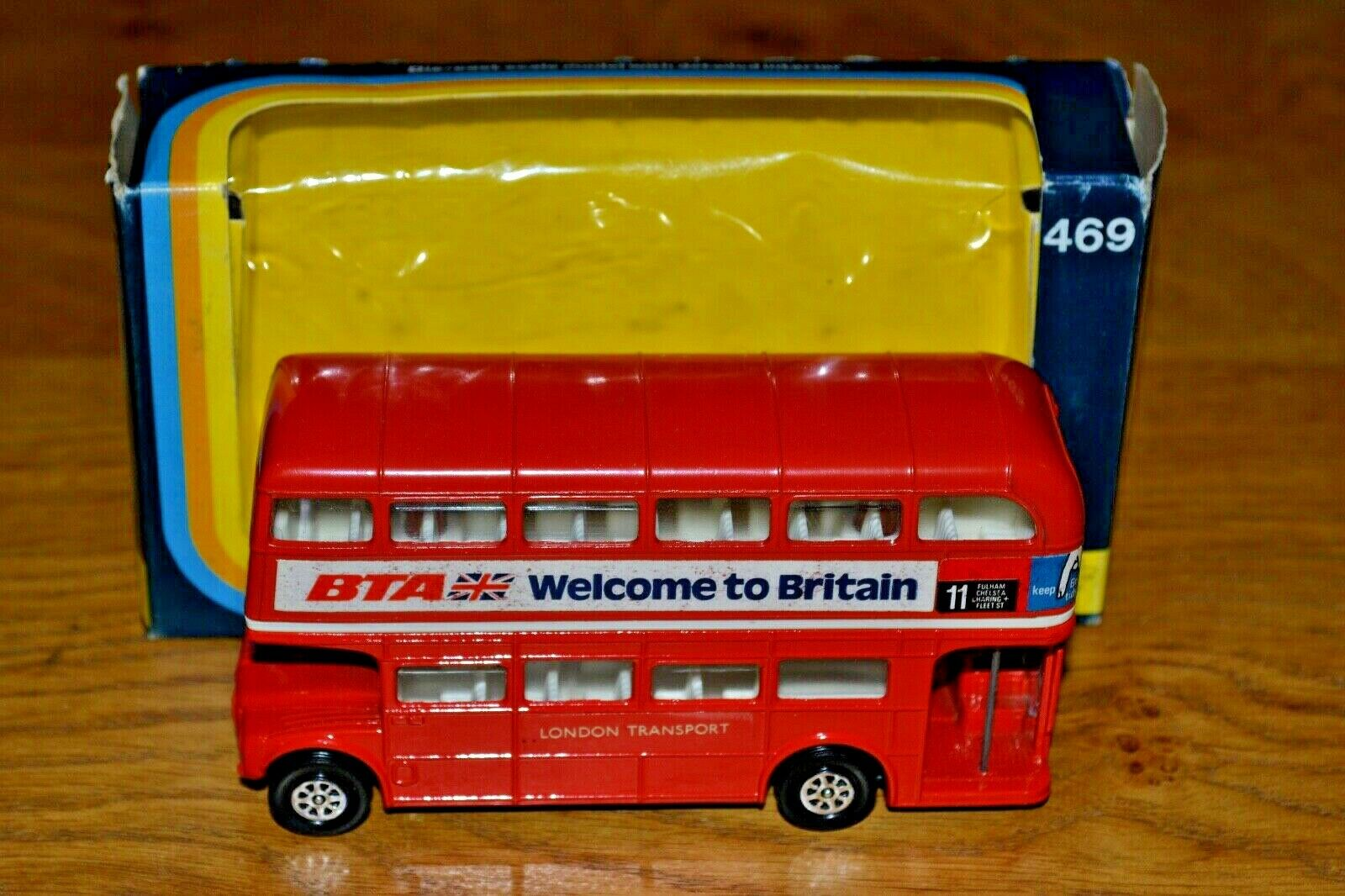 Vintage Corgi No 469 London Routemaster Bus; 1974; Near Mint