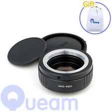 Pixco Focal Reducer Speed Booster Adapter M42 Lens to Sony E NEX 3 5 3C 5N A6000