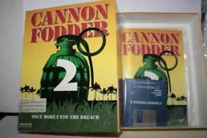 CANNON-FODDER-2-GIOCO-USATO-OTTIMO-AMIGA-EDIZIONE-ITALIANA-PAL-FR1-55070