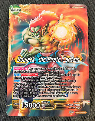 4x Arrival of the Space Pirates BT6-101 UC Dragon Ball Super TCG Near Mint