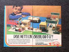 K804-Advertising Pubblicità-1982- HOT WHEELS , DOVE METTO L'INCROCIO