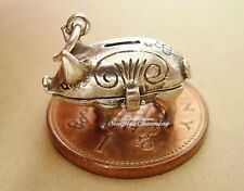 PIGGY BANK OPENING STERLING SILVER CHARM CHARMS