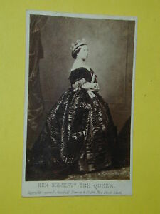 Image Is Loading Carte De Visite MAJESTY THE QUEEN VICTORIA Photo