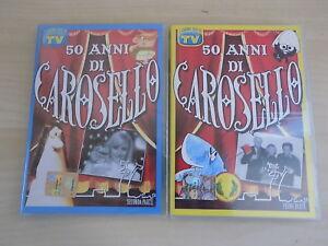 2-DVD-50-ANNI-DI-CAROSELLO-N-1-2-I-GRANDI-MITI-TV-SORRISI-E-CANZONI
