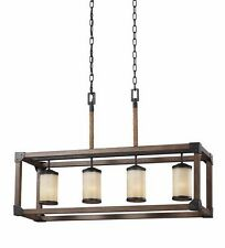 Seagull 6613304-846 Dinning/Kitchen Island 4 Lights Ceiling Chandelier