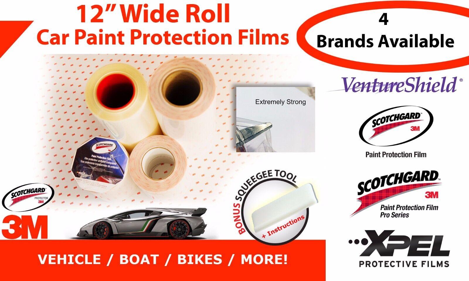12  Wide VentureShield - Scotchgard - 3M Pro Series - Xpel Car Paint Prossoection