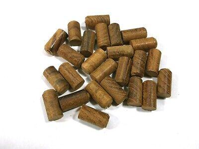 "Pack of 14 BBT Brand 5//8/"" Solid Mahogany Wood Plugs"