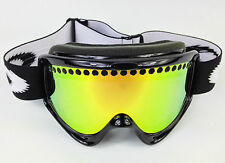 REPLACEMENT GS GOLD MIRROR DUAL VENTED SNOW SKI LENS fits OAKLEY O-FRAME GOGGLES