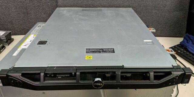Dell PowerEdge R410 Server Dual Intel Xeon E5520 2.27GHz 8GB  4 core  No HDD #M1