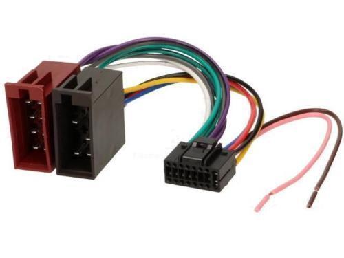 Autorradio ISO adaptador JVC kd-x30 kd-x30 kd-x50bt kd-x70bt