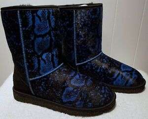 Image is loading NEW-UGG-Boots-CLASSIC-Short-Exotic-Reptile-Pattern-