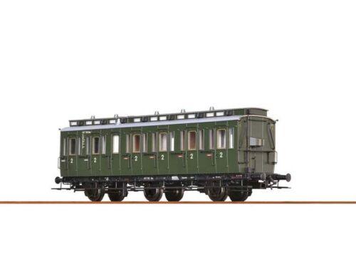 DC BRAWA 45488 Personenwagen B3 der DB III Spur H0