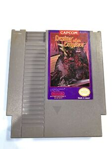 Destiny of an Emperor ORIGINAL NINTENDO NES GAME Tested + WORKING & Authentic!