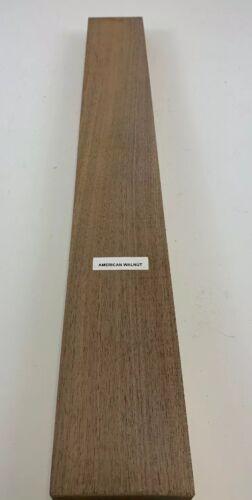 "American Walnut Thin Stock Lumber Boards Wood Crafts 3//8/"" x 2/"" x 12/"" Beautiful"