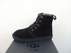 6021e613116 Details about UGG HARKLEY BLACK SUEDE/ WOOL DESERT CHUKKA BOOTS, MEN US 10/  EUR 43 ~ NIB