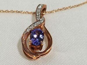 Jared-Amethyst-Pendant-Necklace-1-20-ct-tw-Diamonds-10K-Rose-Gold