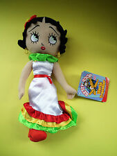 "Betty Boop World Traveller MEXICO 2011 Sugar Loaf 16"" Plush Doll Stuffed w Tags"