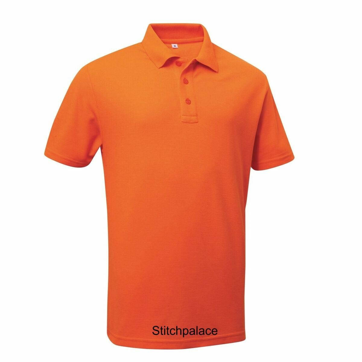 5 Quality Pro Piqué Polo Shirts Embroidered with Your Logo on Chest S-7XL