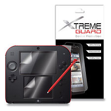 XtremeGuard LCD Screen Protector Shield For Nintendo 2DS (Ultra Clear)