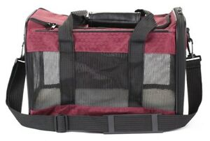 Sherpa To Go Pet Carrier Raspberry Medium Size Airline