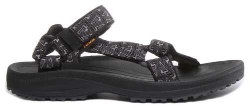 Teva WINSTED Hommes Tissu Sandale en Noir Taille UK 6-12