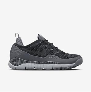 Nike MEN'S Lupinek FLYKNIT ACG Low Black/Dark Grey SIZE 7.5, WOMEN'S SIZE 9 NEW best-selling model of the brand