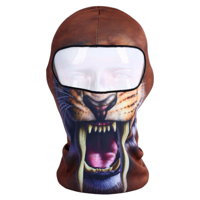 Fashion 3D Animal Bicycle Cycling Scarf Balaclava Neck  Face Mask Protector