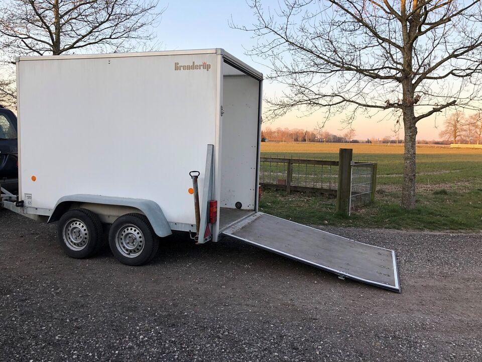 Cargotrailer, brenderup buggi k1304t, lastevne (kg): 825