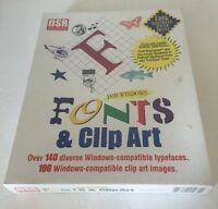 Dsr Software Fonts & Clip Art For Windows