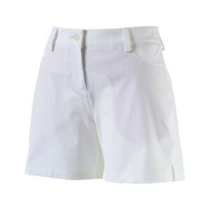 NEW-Women-039-s-PUMA-Solid-Golf-Short-5-034-Bright-White-Pick-Size