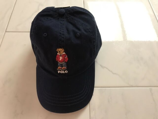 Polo Lauren Ralph Baseball Hat Bear Blue Varsity Navy Men's Dad 4jL5AR3q