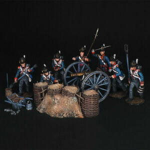 Tin soldier Large set of artillery fortifications, 54 mm 5 parts