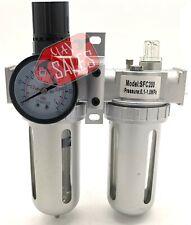 Air Control Filter Compressor Pressure Regulator Water Moisture Trap Dryer Unit