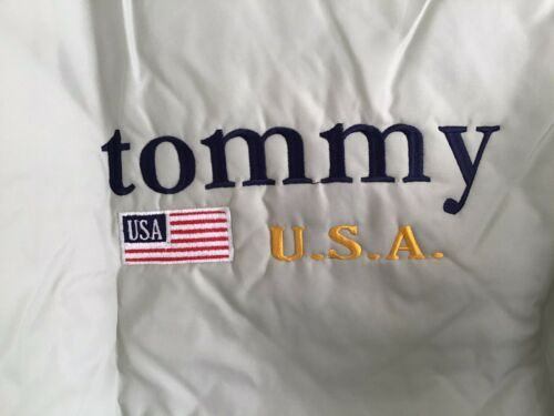 Vintage Tommy USA Satin Jacket Don Allison Athleti