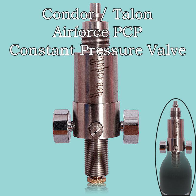 Potencia alta presión constante CO2 Válvula De Rifle De Aire Pcp Airforce Condor Y Talon