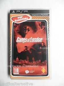 jeu-GANGS-OF-LONDON-sur-sony-PSP-game-spiel-juego-gioco-action-spel-COMPLET