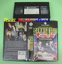 VHS film SAMMY & ROSIE VANNO A LETTO 1987 DOMOVIDEO 58302 100 minuti(F74) no dvd