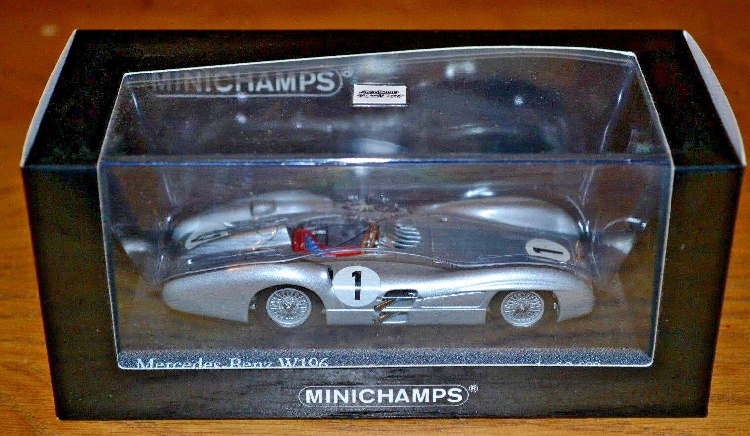 Minichamps 1 43 Mercedes Benz W196 Mint Condition