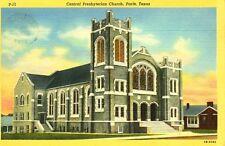 Paris,TX. The Central Presbyterian Church 1947
