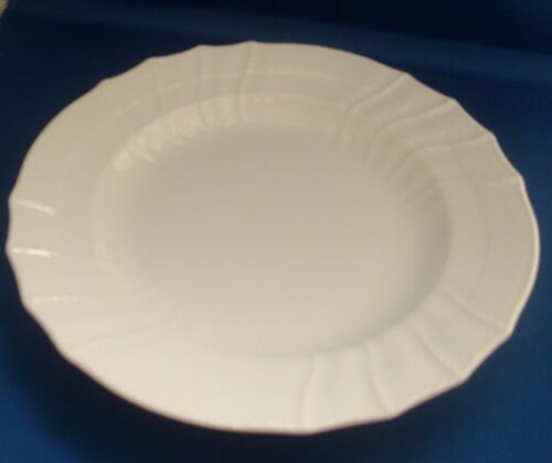 Antique 19th century KPM Berlin Porcelain Blanc de Chine White Plate Dish