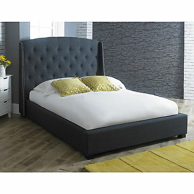 Signature 4ft6 Double Bed DARK GREY is a New Grand Design Stylish Bed