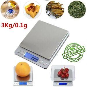 Balance de cuisine inox avec bol pour les aliments 5kg x 1g NEUVE